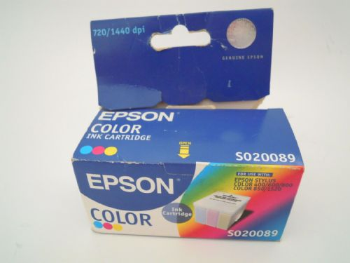 EPSON INK CARTRIDGE S020089 FOR EPSON STYLUS COLOUR 400/600/800